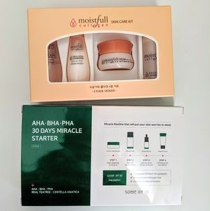 Etude house collagen and some by mi travel 4 peice